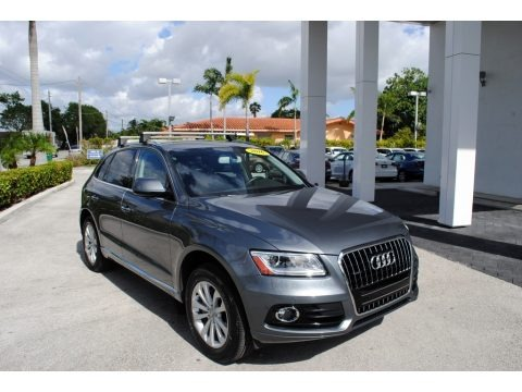 Monsoon Gray Metallic 2016 Audi Q5 2.0 TFSI Premium Plus quattro