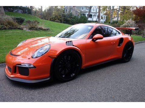 Gulf Orange, Paint to Sample 2016 Porsche 911 GT3 RS