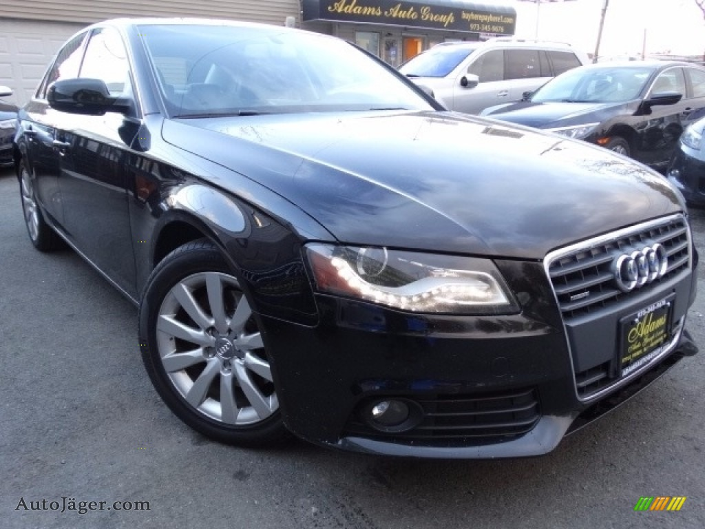 2010 A4 2.0T quattro Sedan - Brilliant Black / Black photo #1