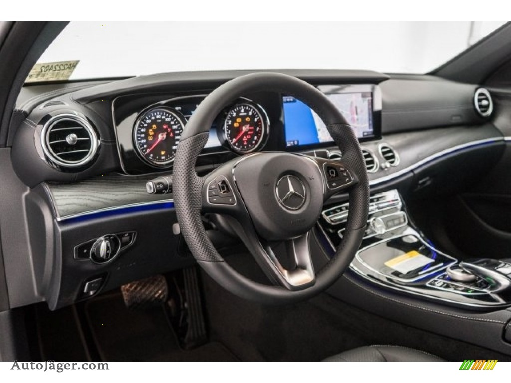 2018 E 300 Sedan - Selenite Grey Metallic / Black photo #6