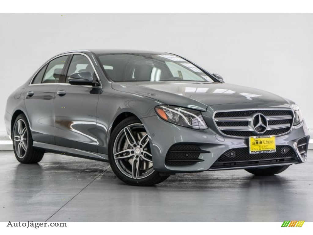 2018 E 300 Sedan - Selenite Grey Metallic / Black photo #12