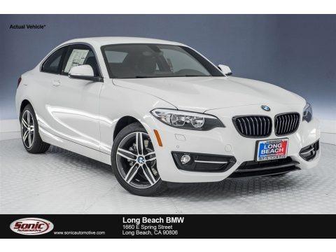 Alpine White 2018 BMW 2 Series 230i Coupe