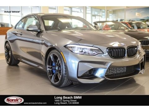 Mineral Grey Metallic 2018 BMW M2 Coupe