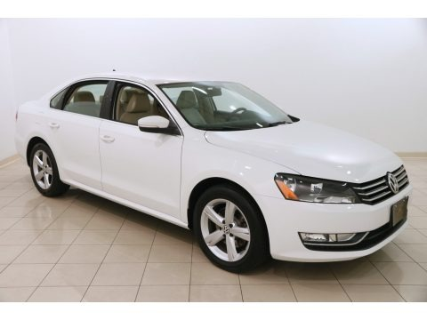 Candy White 2015 Volkswagen Passat Wolfsburg Edition Sedan