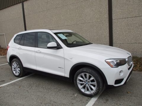 Alpine White 2015 BMW X3 xDrive28i