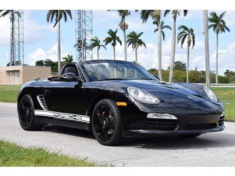 Black 2011 Porsche Boxster