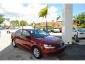 Volkswagen Jetta S Cardinal Red Metallic photo #1