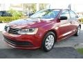 Volkswagen Jetta S Cardinal Red Metallic photo #5