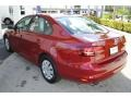 Volkswagen Jetta S Cardinal Red Metallic photo #6