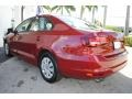 Volkswagen Jetta S Cardinal Red Metallic photo #7
