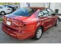 Volkswagen Jetta S Cardinal Red Metallic photo #9