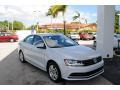 Volkswagen Jetta S White Silver photo #1