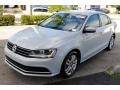 Volkswagen Jetta S White Silver photo #4