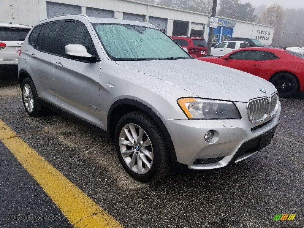 2014 X3 xDrive28i - Titanium Silver Metallic / Oyster photo #1
