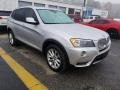BMW X3 xDrive28i Titanium Silver Metallic photo #1