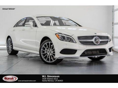 designo Diamond White Metallic 2018 Mercedes-Benz CLS 550 Coupe
