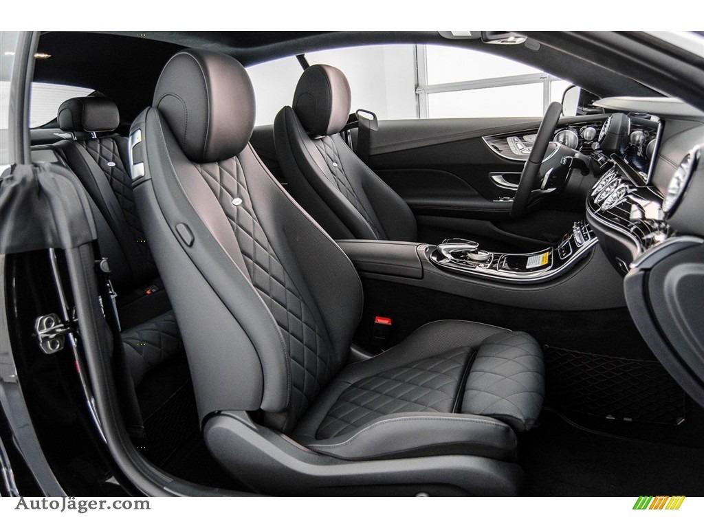 2018 E 400 Coupe - Black / Black photo #2