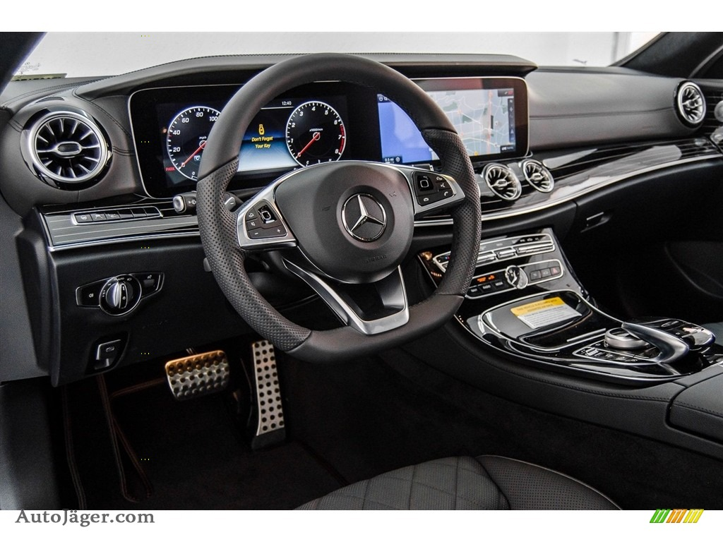 2018 E 400 Coupe - Black / Black photo #6