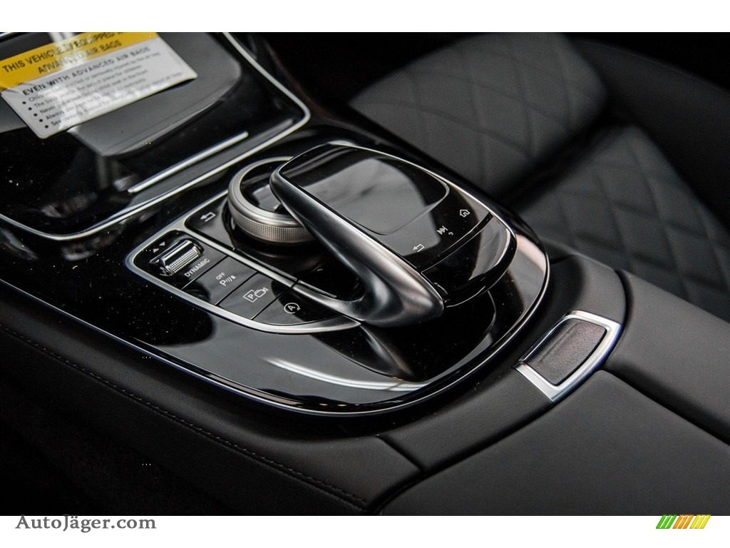 2018 E 400 Coupe - Black / Black photo #7