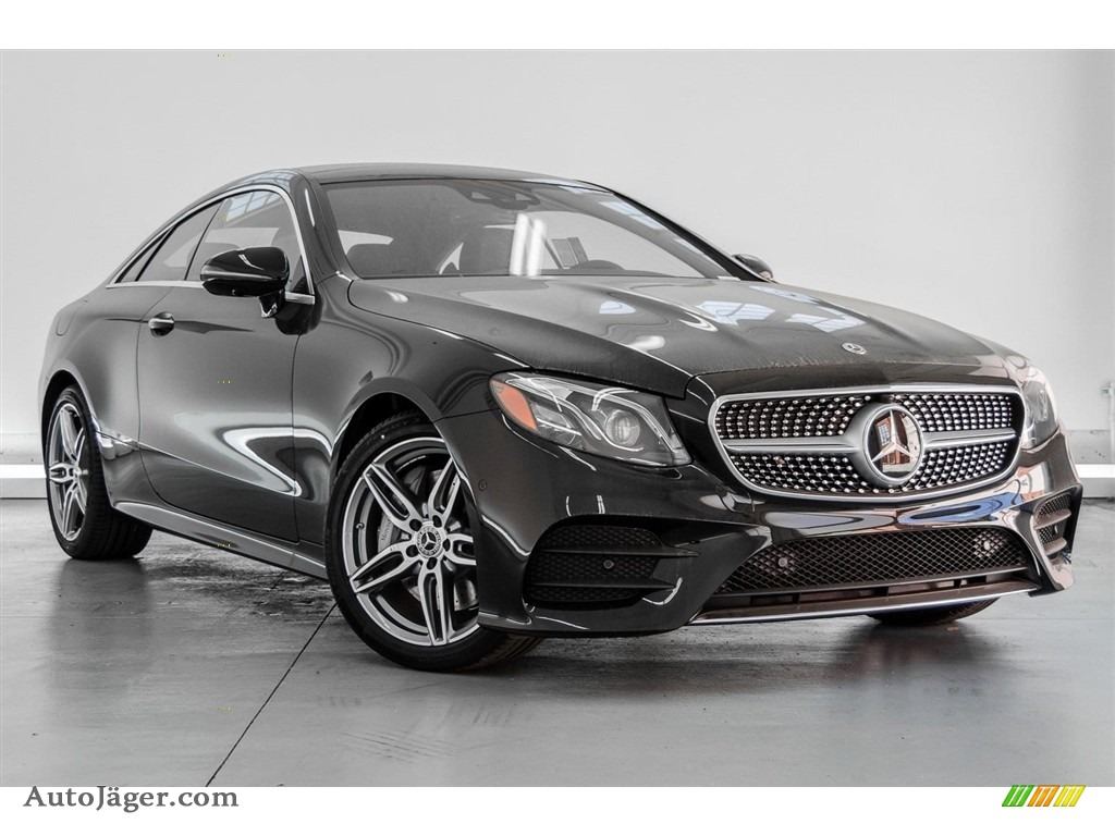 2018 E 400 Coupe - Black / Black photo #12