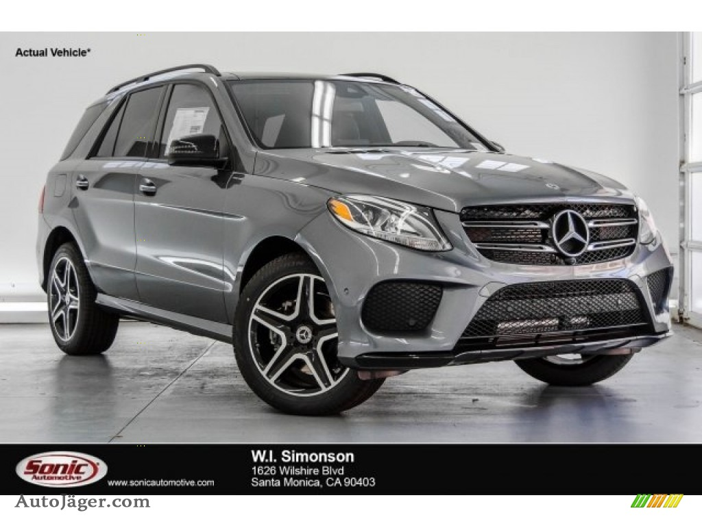 2018 GLE 350 - Selenite Grey Metallic / Black photo #1