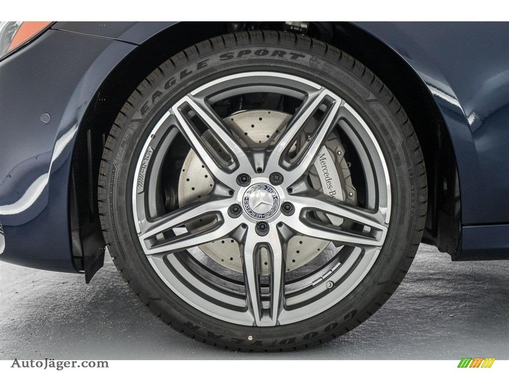 2018 E 300 Sedan - Lunar Blue Metallic / Macchiato Beige/Black photo #9
