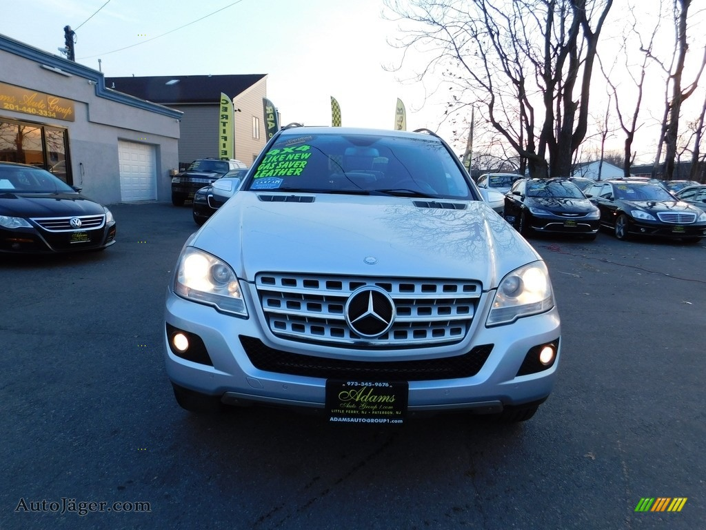 2009 ML 350 4Matic - Pewter Metallic / Black photo #3
