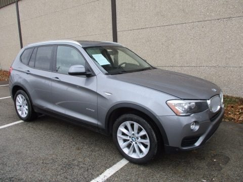 Space Grey Metallic 2015 BMW X3 xDrive28i