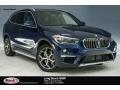 BMW X1 sDrive28i Mediterranean Blue Metallic photo #1