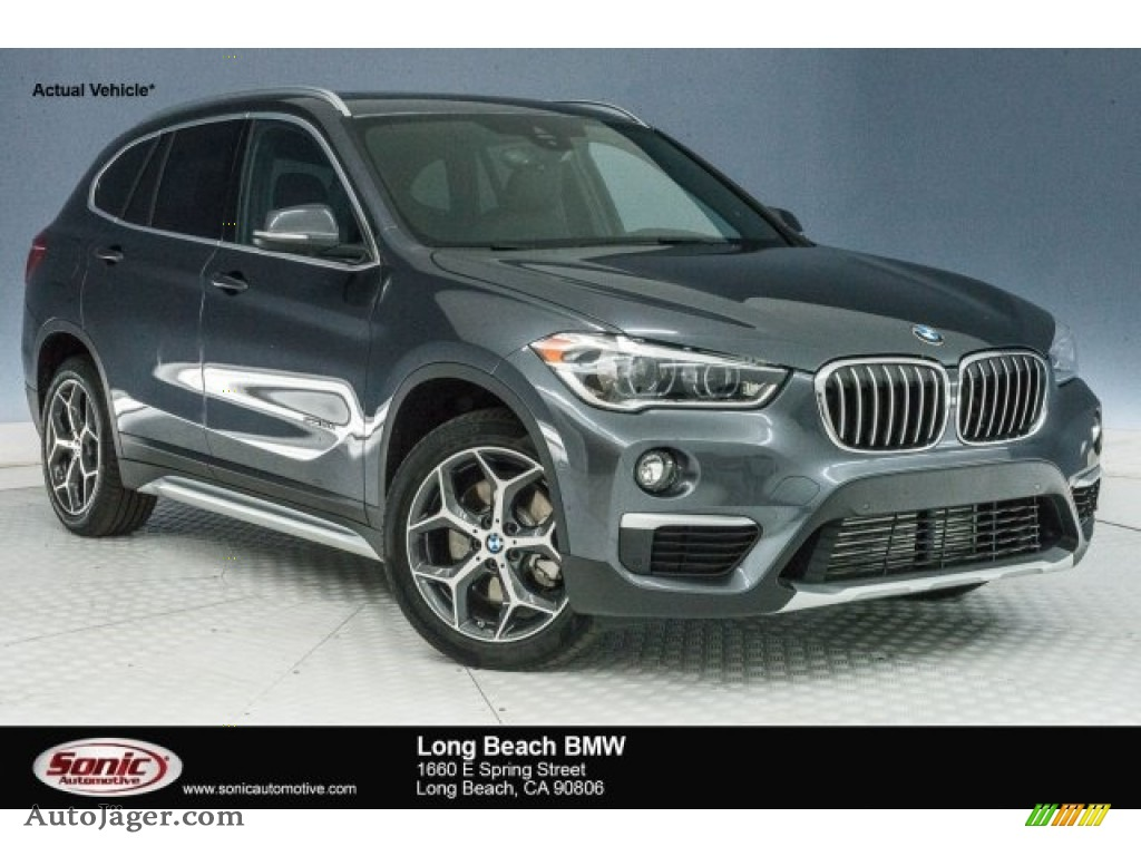 Mineral Grey Metallic / Black BMW X1 sDrive28i