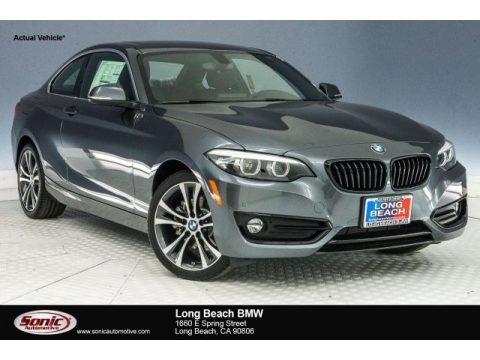 Mineral Grey Metallic 2018 BMW 2 Series 230i Coupe