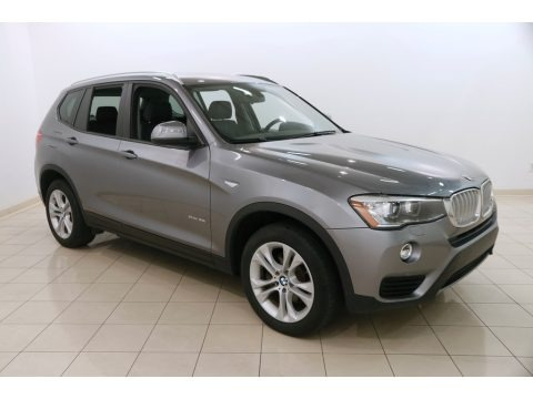 Space Grey Metallic 2016 BMW X3 xDrive35i