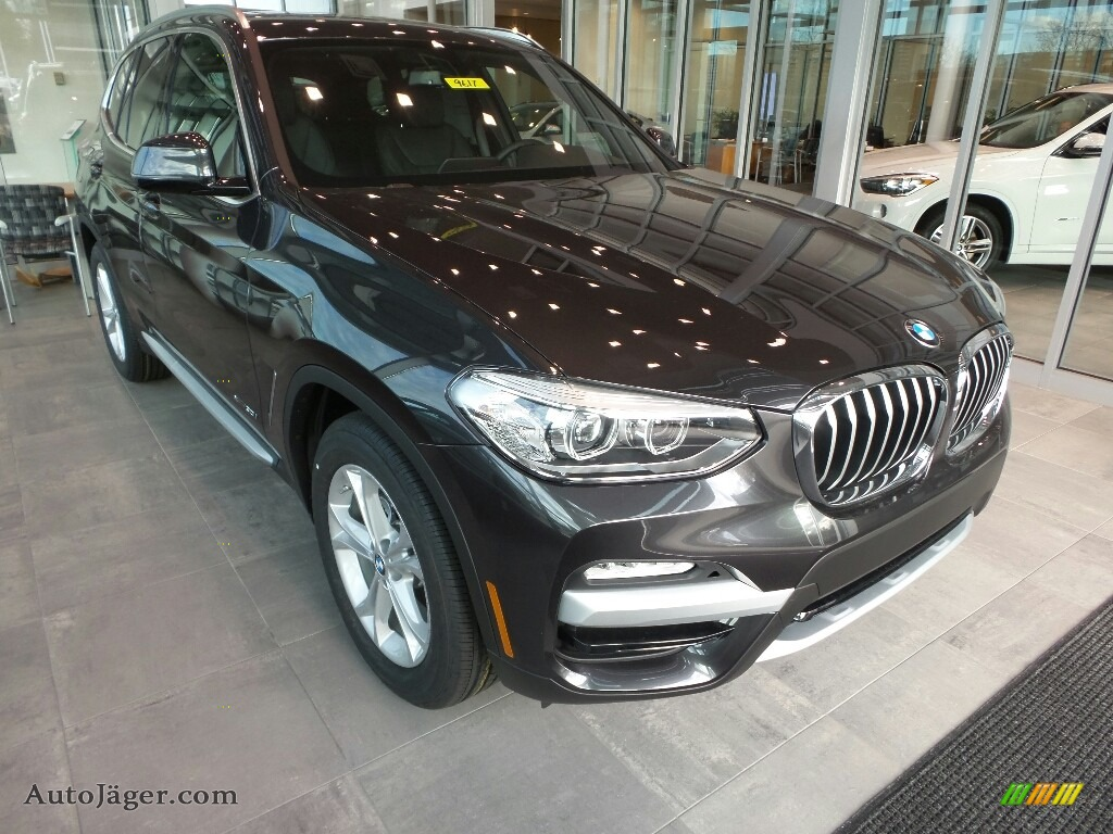 Dark Graphite Metallic / Black BMW X3 xDrive30i
