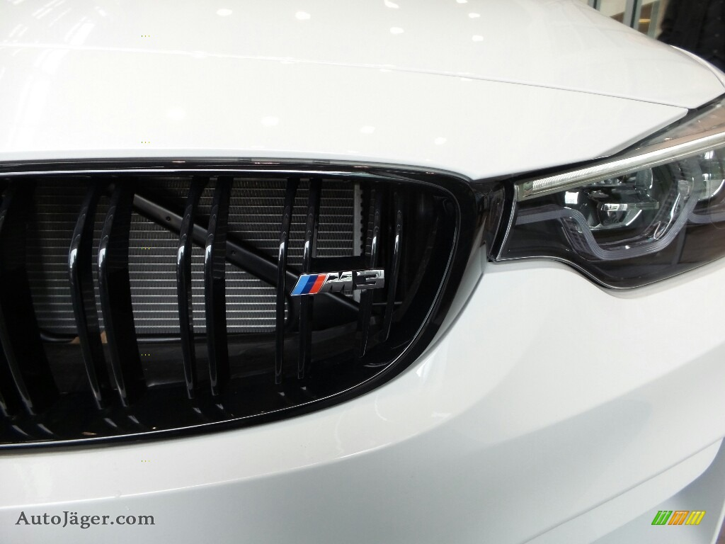 2018 M3 Sedan - Alpine White / Black photo #7