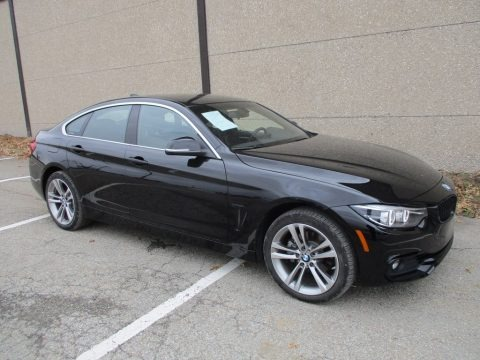 Jet Black 2018 BMW 4 Series 430i xDrive Gran Coupe