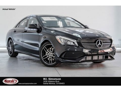 Night Black 2018 Mercedes-Benz CLA 250 Coupe