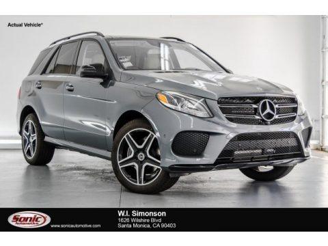 Selenite Grey Metallic 2018 Mercedes-Benz GLE 350