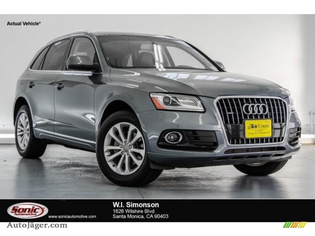 2013 Q5 2.0 TFSI quattro - Monsoon Gray Metallic / Black photo #1