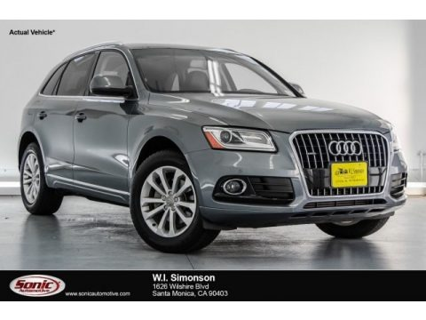 Monsoon Gray Metallic 2013 Audi Q5 2.0 TFSI quattro
