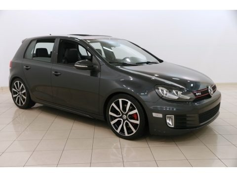 Carbon Steel Gray Metallic 2013 Volkswagen GTI 4 Door Autobahn Edition