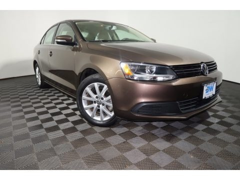 Toffee Brown Metallic 2014 Volkswagen Jetta SE Sedan