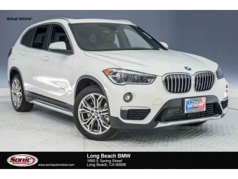 Alpine White 2017 BMW X1 xDrive28i