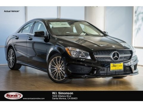 Night Black 2017 Mercedes-Benz CLA 250 Coupe