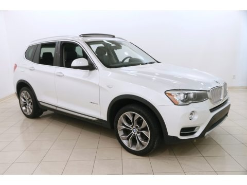 Mineral White Metallic 2015 BMW X3 xDrive35i