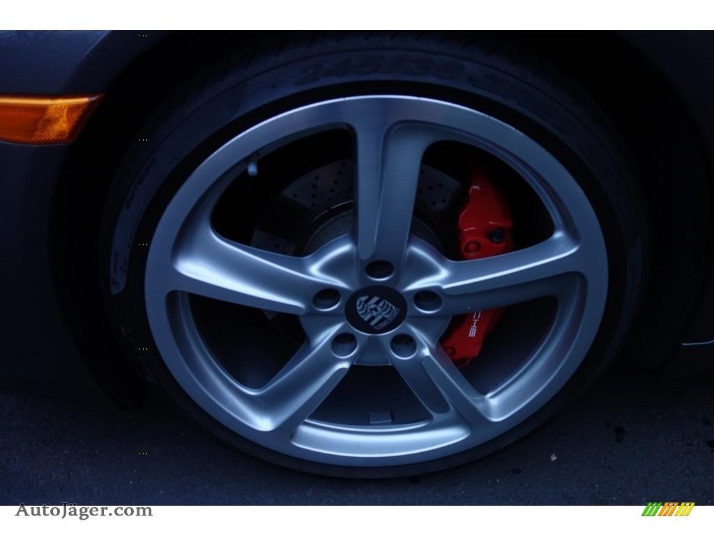 2015 911 Carrera S Cabriolet - Agate Grey Metallic / Black photo #10
