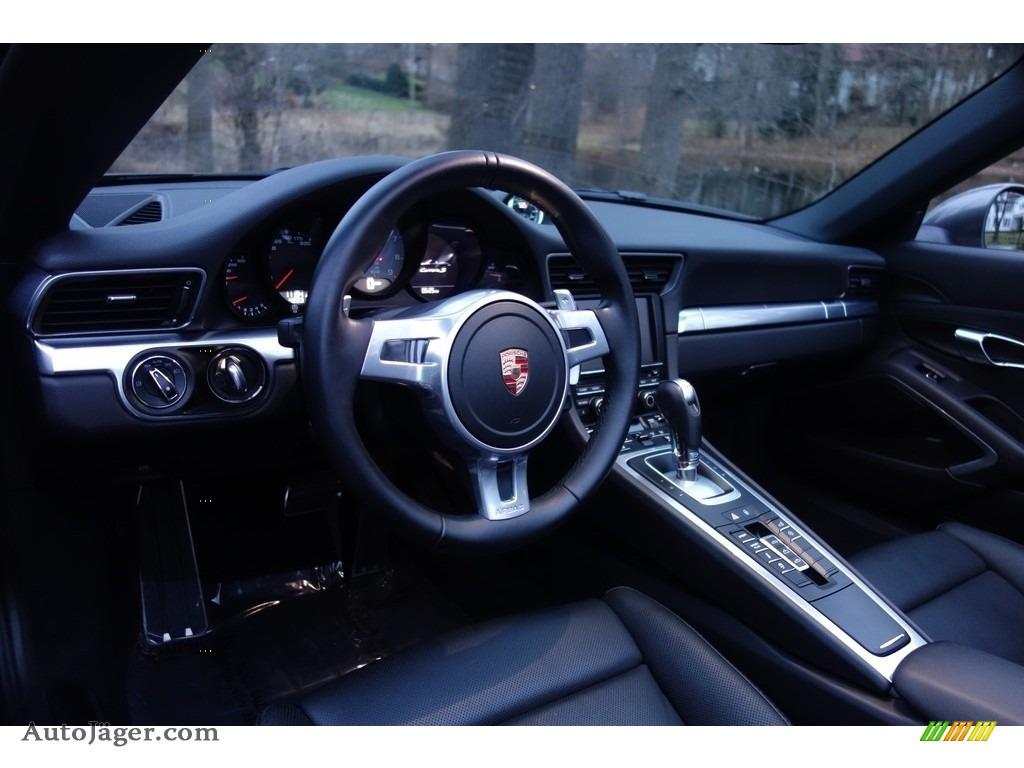2015 911 Carrera S Cabriolet - Agate Grey Metallic / Black photo #11