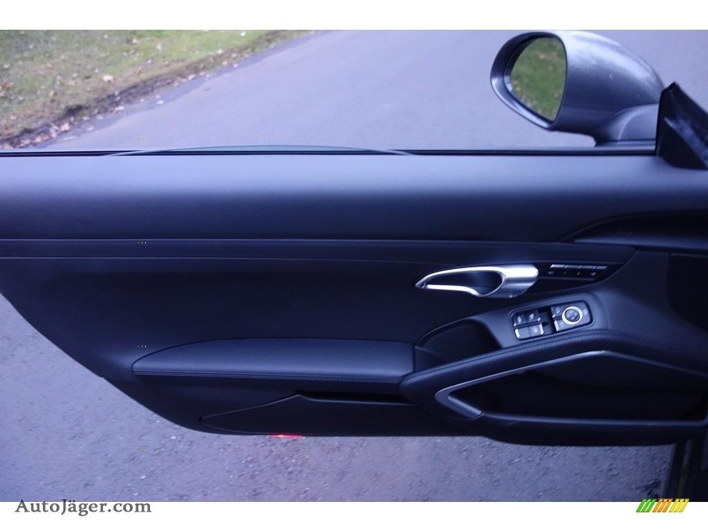 2015 911 Carrera S Cabriolet - Agate Grey Metallic / Black photo #12