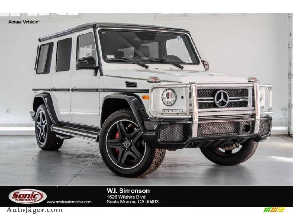 2017 G 63 AMG - Polar White / designo Black photo #1