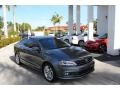 Volkswagen Jetta SEL Platinum Gray Metallic photo #1