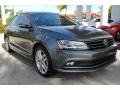 Volkswagen Jetta SEL Platinum Gray Metallic photo #2